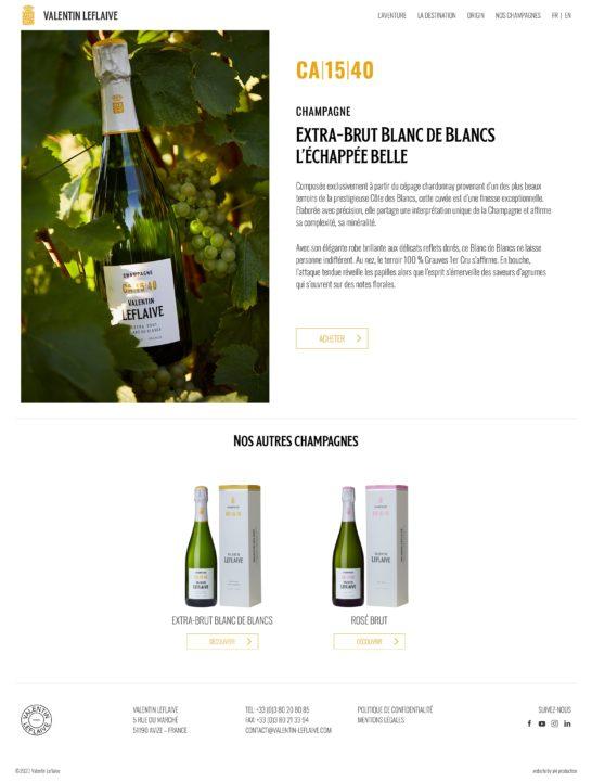 Extra-Brut Blanc de Blancs – Valentin Leflaive
