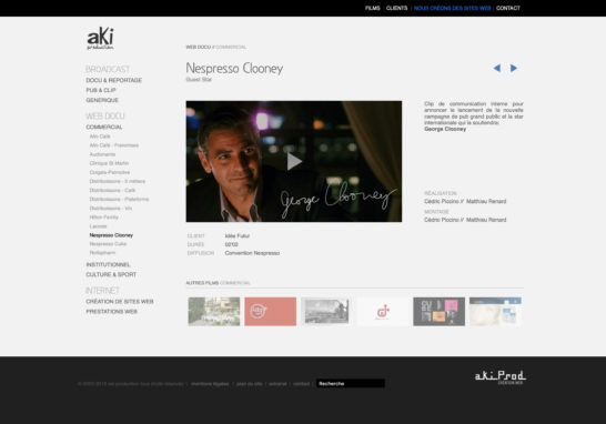 Nespresso-Clooney-»-aki-production-»-web-docu-»-commercial